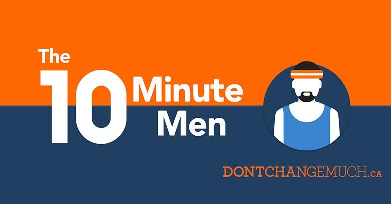 10 minutes d'exercices pour les hommes